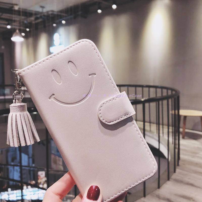 笑顔iPhoneXS/8プラスケース手帳 ゴールドiPhone XSMAXレザー