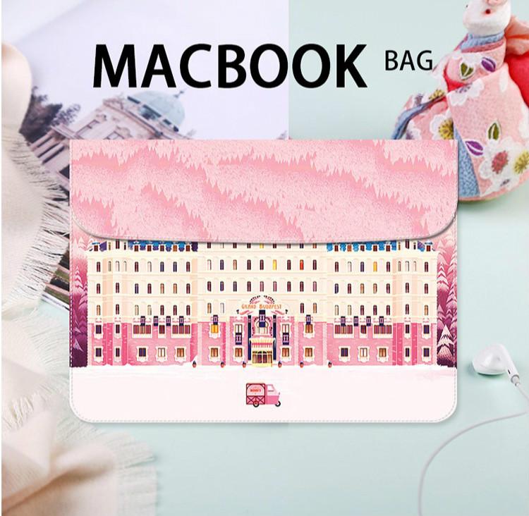 グランドブダペストホテルmac インナーケース かわいいApple Mac Book 12