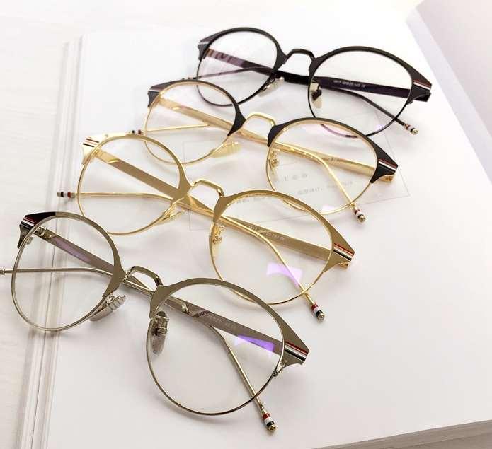 2021年女性眼鏡メタル金属メガネ通販