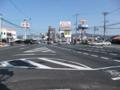 [第二京阪道路]巣本交差点全景