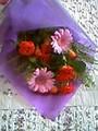 [花]Mちゃんにもらった花束