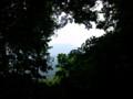 [富士山]突出岩から見た富士山