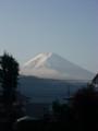 [富士山]セブンイレブン河口店からの富士山