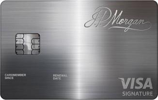 金属で出来た、JPモルガンのパラジウムカード