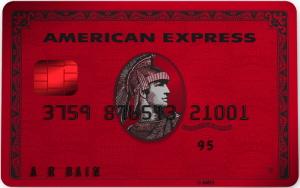 アメリカン・エキスプレス・レッド(American Express Red)の券面画像