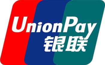 中国で流通している銀聯カードのロゴマーク
