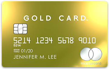 LUXURY CARDで最上級のGOLD CARD