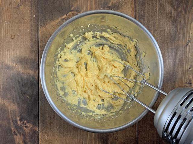 バターは少しづつ