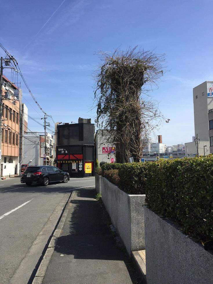 姫路モノレール大将軍駅支柱跡