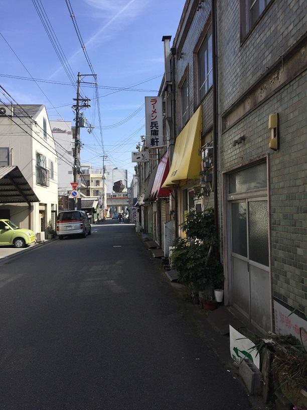 姫路モノレールの跡