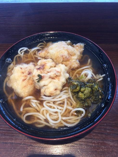 姫路駅で食べたえきそば