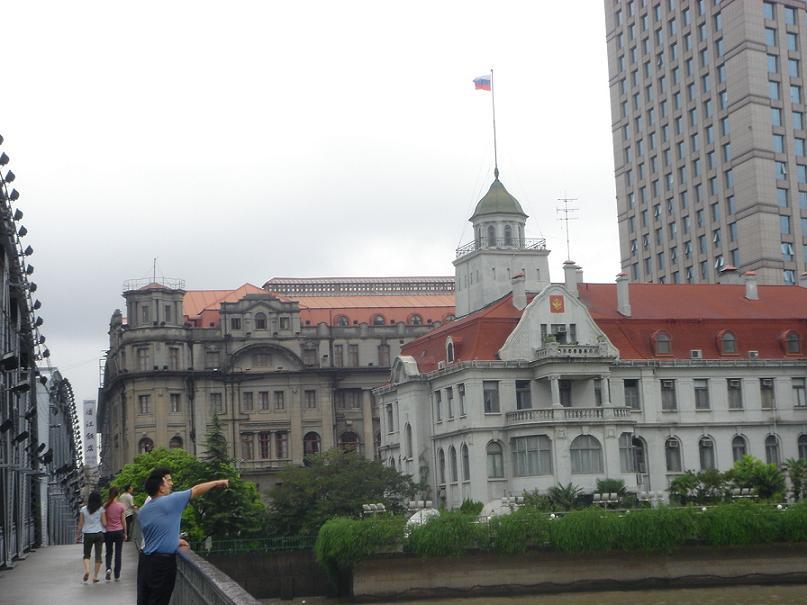 ロシア領事館と浦江飯店