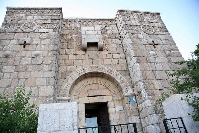 シリアダマスカスにある教会