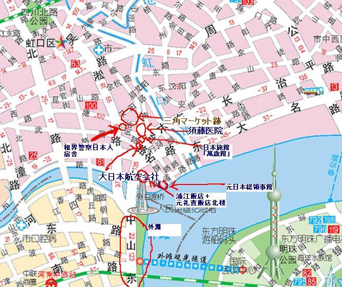 上海日本租界地図その1