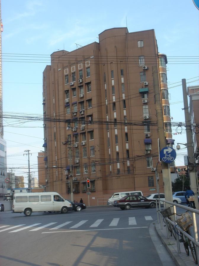 公安大楼-元租界警察日本人宿舎