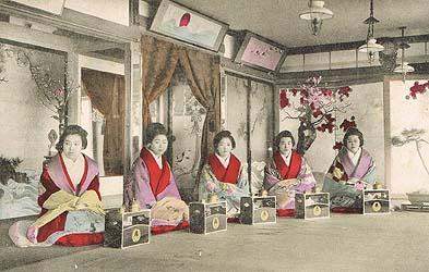 金瓶楼の遊女と伝えられる写真