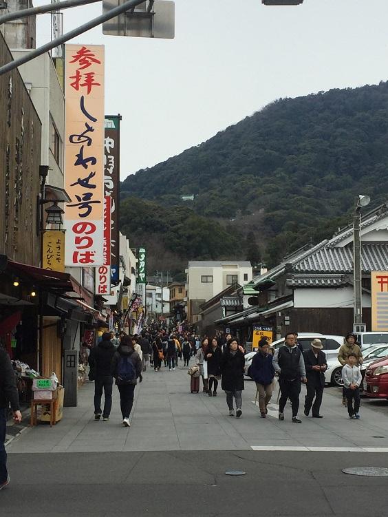 金刀比羅神社こんぴらさんの参道
