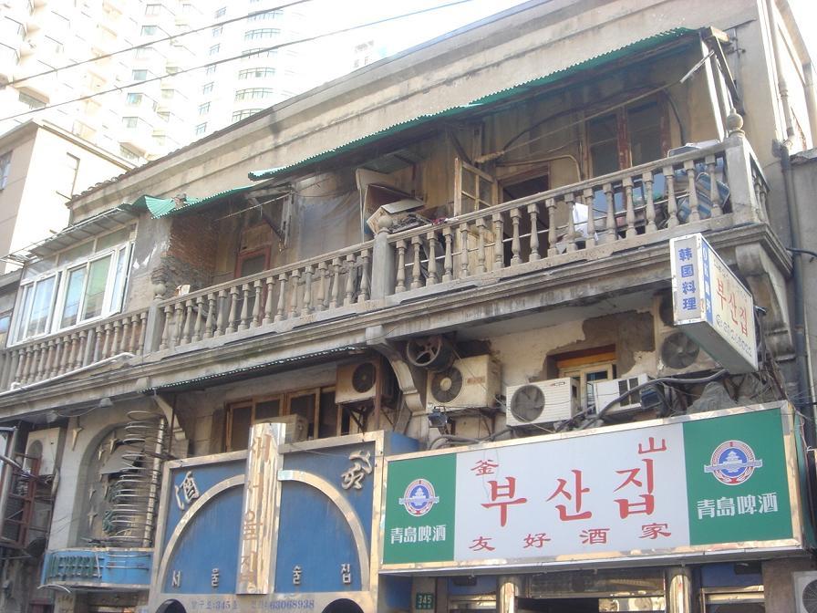 上海の元私娼街の建物