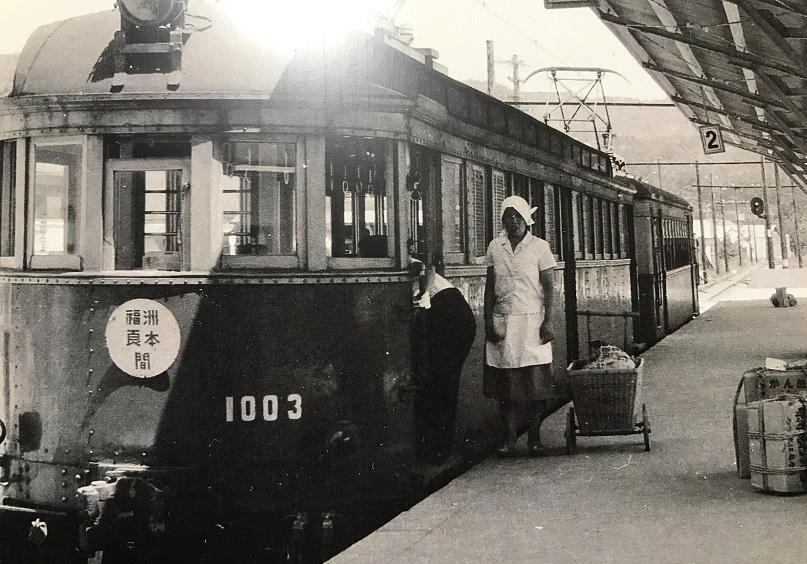 淡路交通鉄道線(淡路鉄道)洲本駅写真