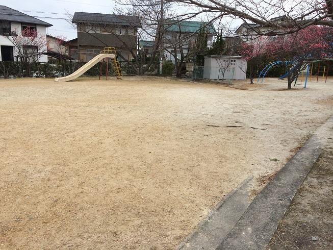 砂川公園と砂川奇勝の砂質の違い