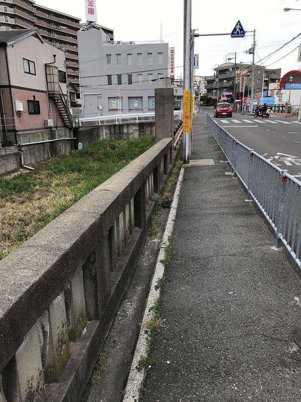 現代の月見橋(上野芝)
