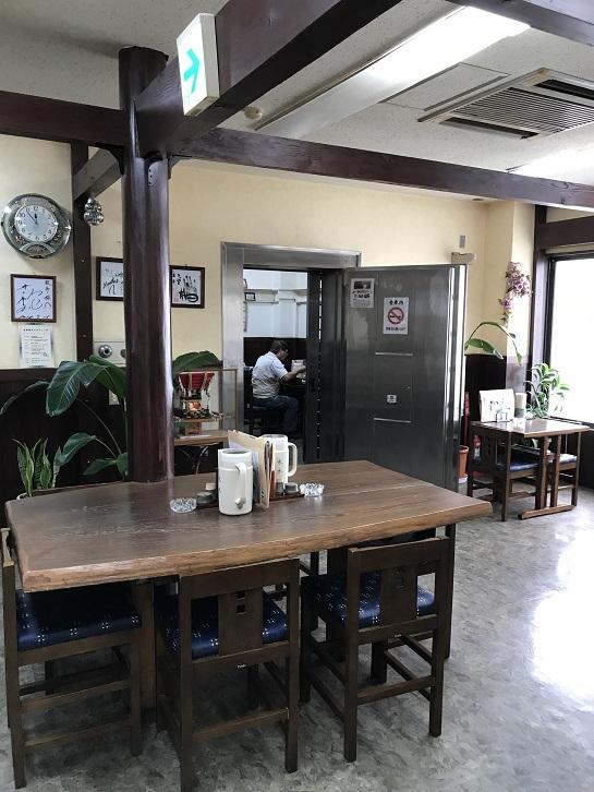鼓亭の元金庫の部屋