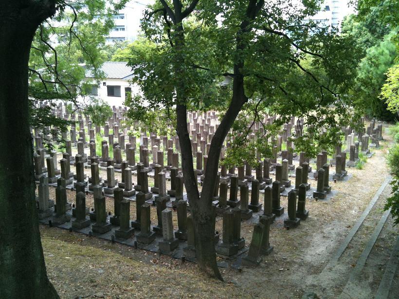 真田山陸軍墓地1