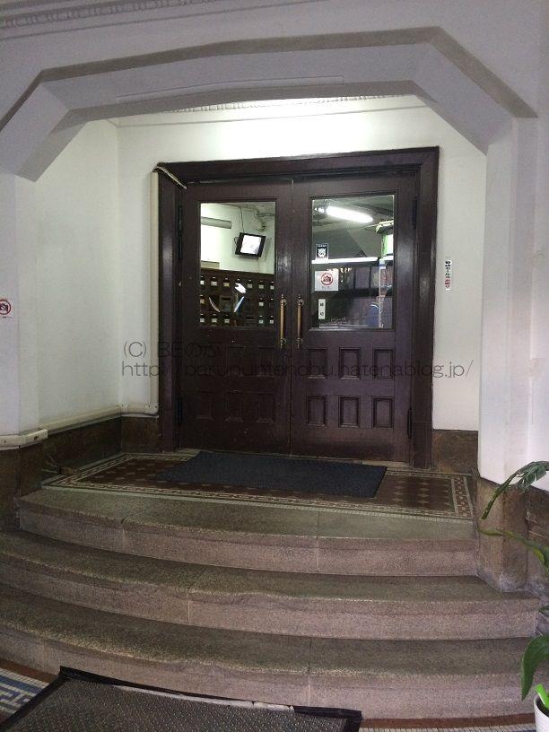大江ビルヂング正面玄関
