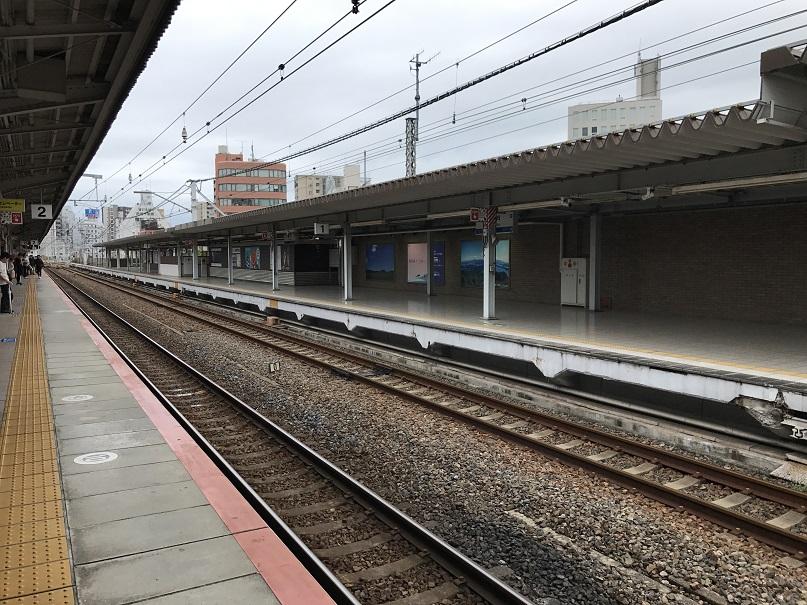 JR神戸駅1番ホーム