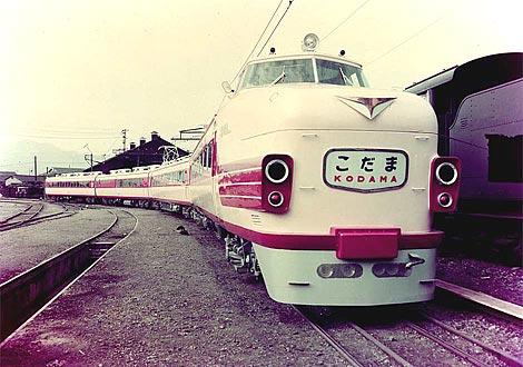 東海道本線特急こだま