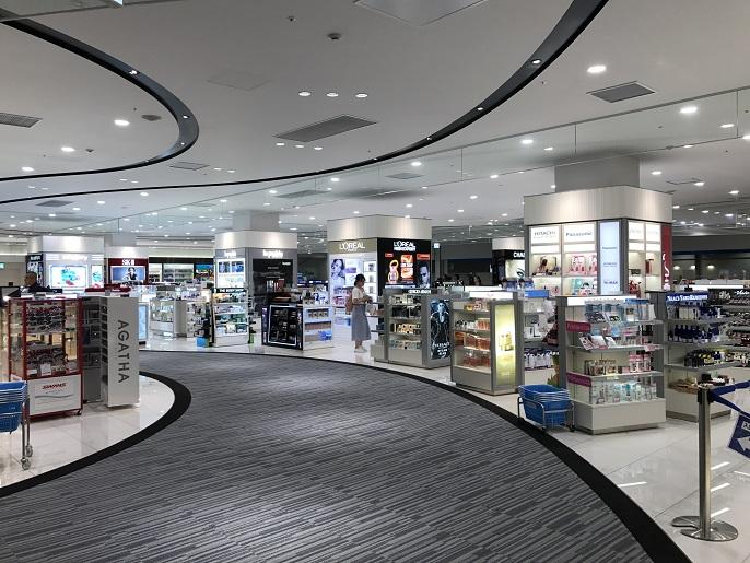 関空第二ターミナル国際線免税店