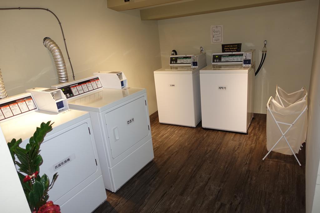 台北oxygen-hostel5階洗濯機
