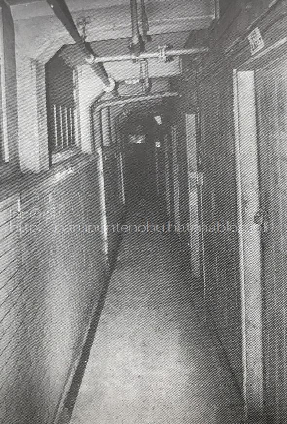 阪和電鉄天王寺駅の地下道写真
