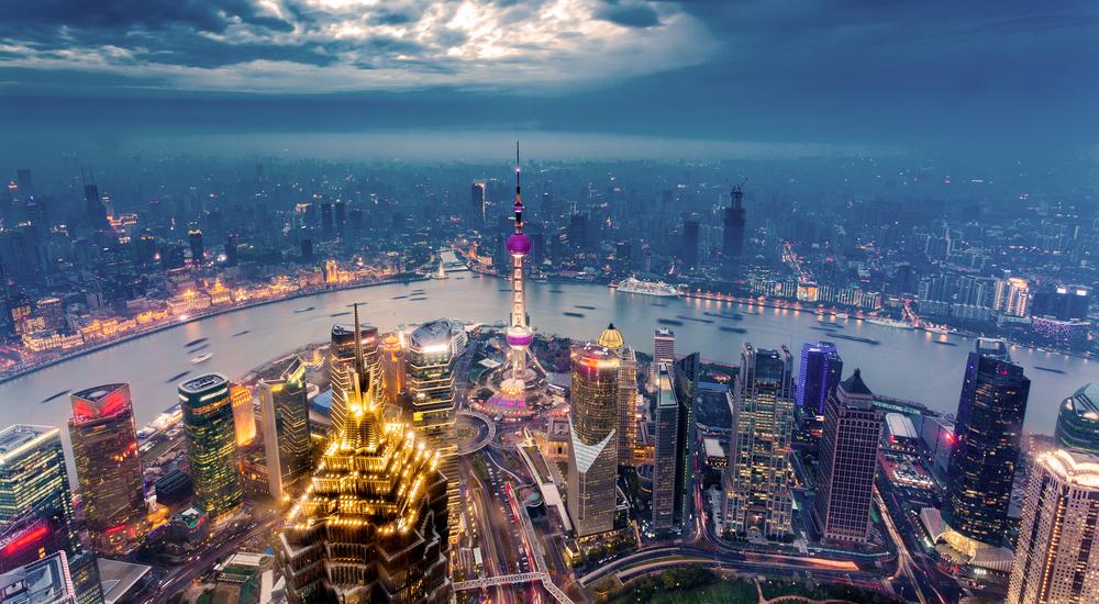 上海フリー画像