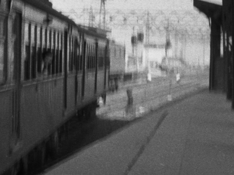 1954年の阪和線天王寺駅