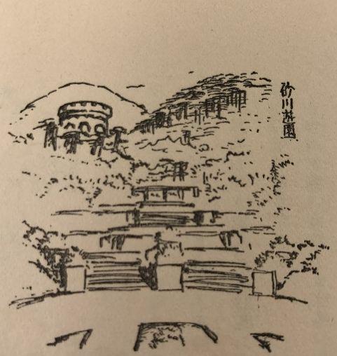 砂川遊園のスケッチ