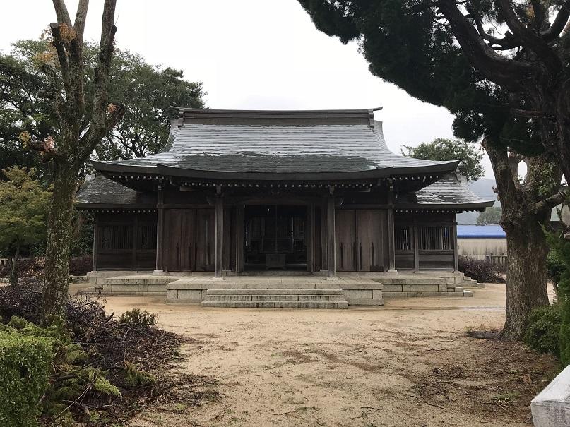 大炊神社南あわじ市志知中島