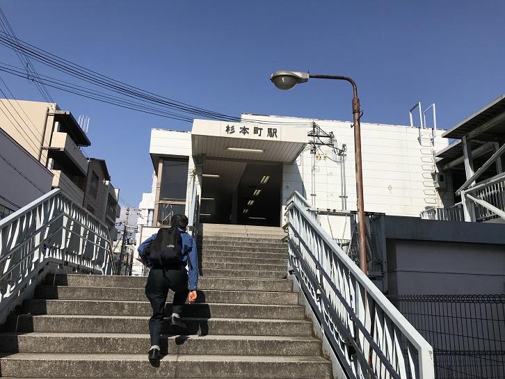 阪和線杉本町駅