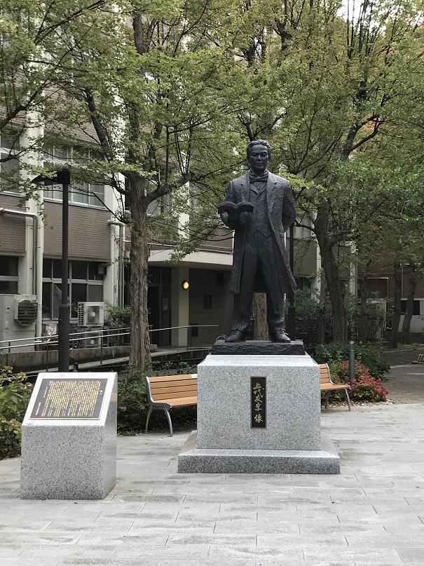 大阪市立大学の五代友厚像