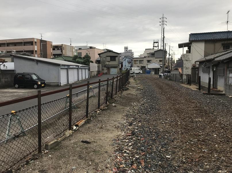 平成29年の阪和貨物線杉本町駅