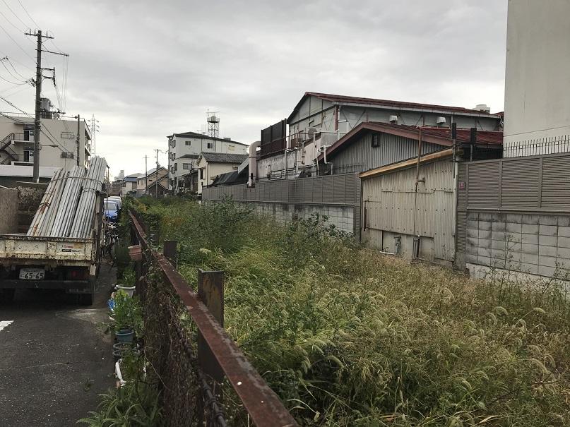 2017年阪和貨物線跡杉本町駅