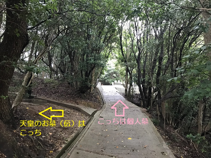 淳仁天皇高島陵2