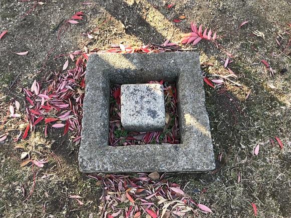 一等三角点がある日本一低い山蘇鉄山の三角点