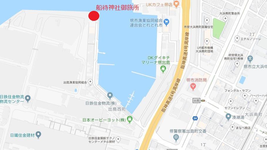 船待神社御旅所地図