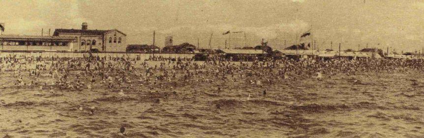 戦前の堺の海岸
