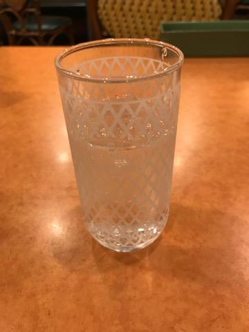 サイゼリヤの炭酸水