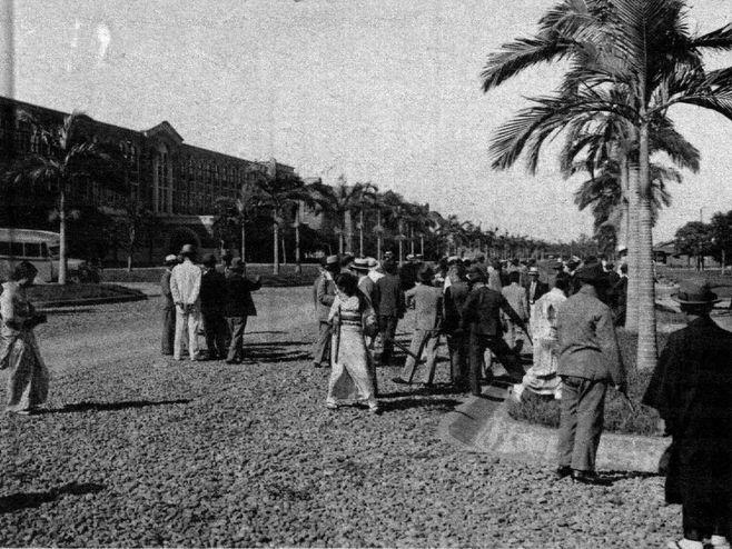 1935年台北帝国大学学内写真