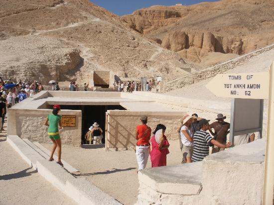 エジプトルクソール王家の谷ツタンカーメン王墓