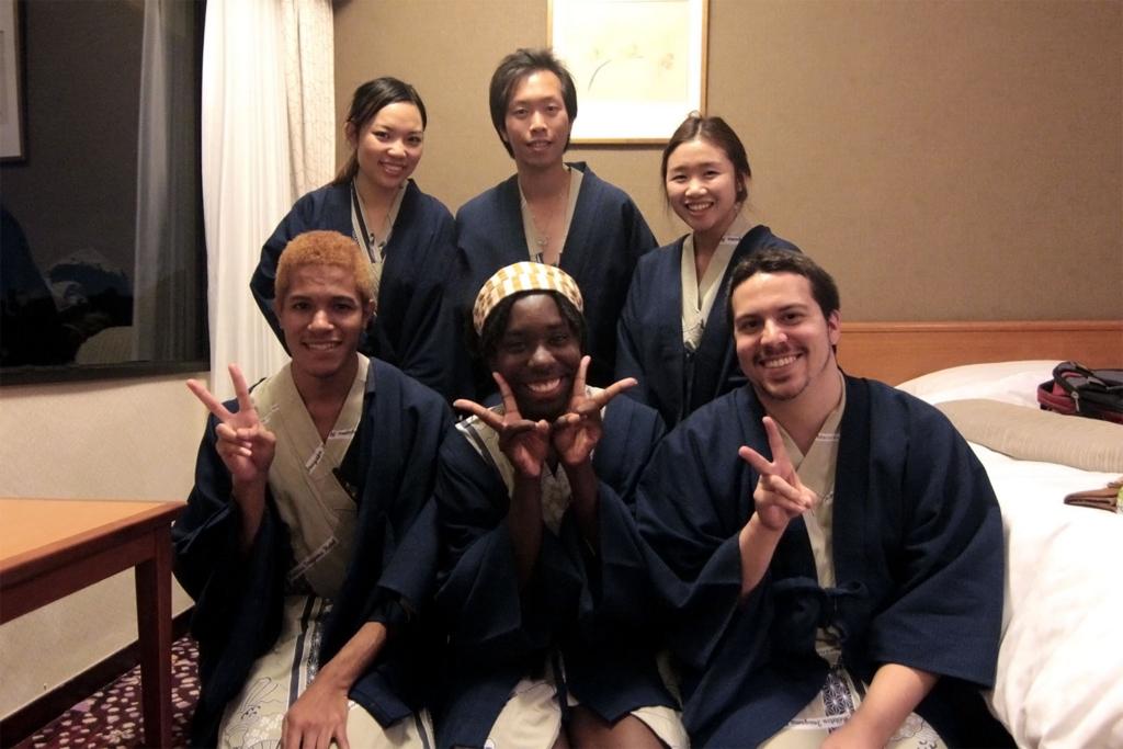 日本に観光に来る外国人