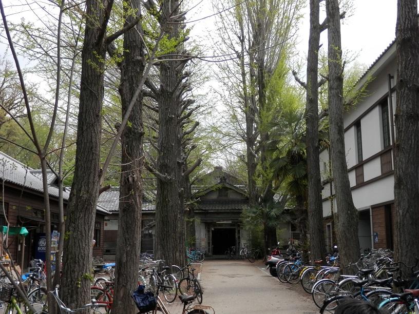 現存する数少ない帝国大学の寄宿舎京大吉田寮
